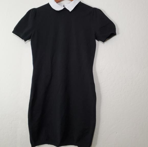 Forever 21 Dresses & Skirts - Forever21 Contrast Collar Sweater Dress
